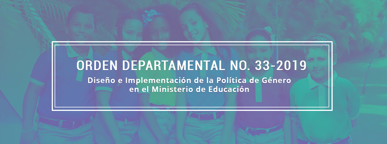 Orden departamental  33-2019