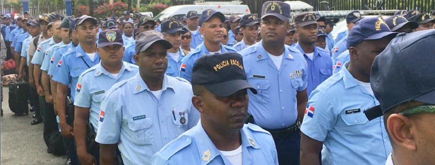 Dirección Policía Escolar Formados