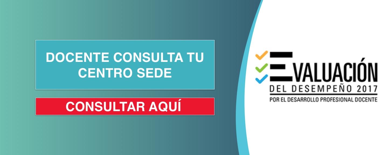 Docente Consulta tu Centro CEDE