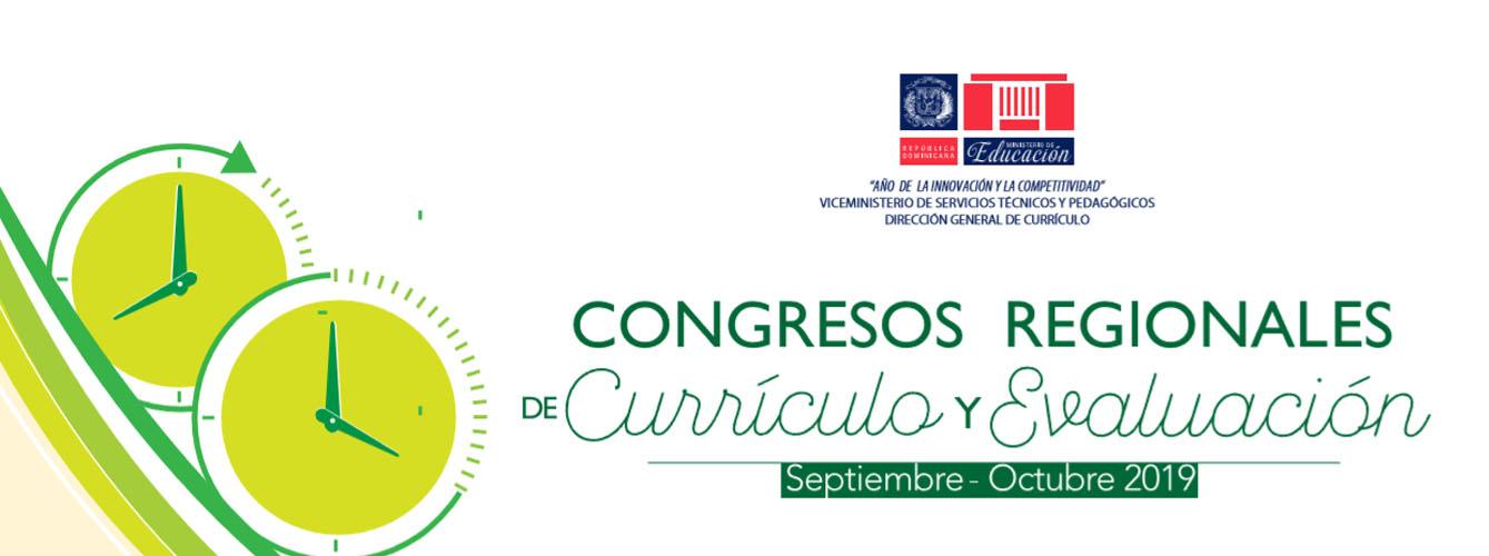 Congresos Regionales de Currículo y Evaluación
