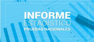 Informe Estadístico Pruebas Nacionales