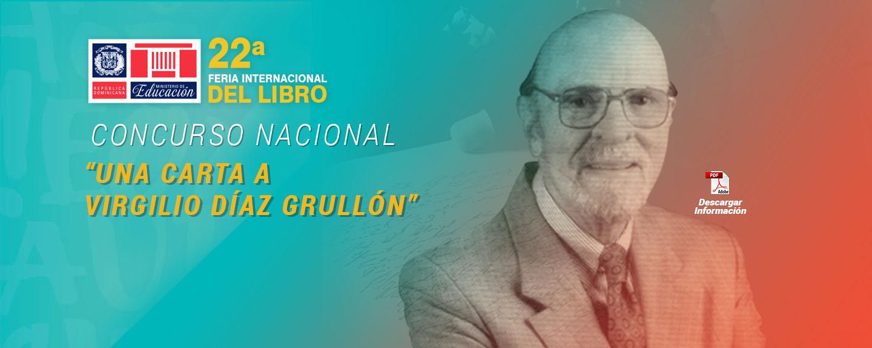 "Concurso ""Una carta a Virgilio Díaz Grullón"""