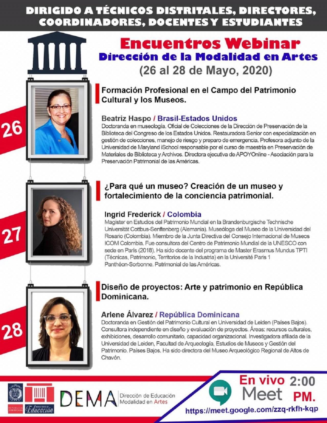 imagen Beatriz Haspo es doctoranda en museología en la Universidade Lusófona de Technologias e Humanidades (Portugal).