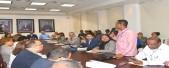 imagen Henry Santos en reunión con directores regionales
