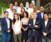 imagen Director de Comunicaciones y Relaciones Públicas de este Ministerio de Educación, Miguel Medina junto a directiva del Comité Ejecutivo de Televisión Educativa de Iberoamérica.