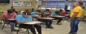 imagen Estudiantes de Secundaria toman las Pruebas Nacionales en su tercera convocatoria.