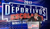 imagen Ministro de Educación Andrés Navarromientras ofrece detalles del evento en el encuentro.