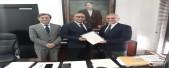 imagen Henry Santos junto a dirigentes de REDUCA