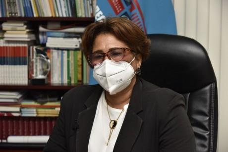 imagen La directora de la Regional 01 del Ministerio de Educación, Nancy Cuevas Medina