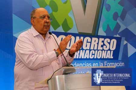 """imagen Culmina con éxito el """"V Congreso Internacional Nuevas Tendencias en la Formación Permanente del Profesorado"""""""