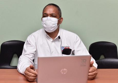 imagen El coordinador pedagógico de la Dirección Regional 01, Jairo Trinidad
