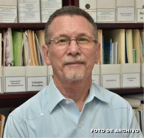 imagen Remigio García, director de Currículo