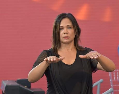 imagen La directora de Educación Especial, María Angelina Rodríguez