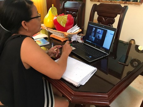 imagen Direcciones regionales y distritales del MINERD monitoreando de manera virtual medidas de apoyo educativo dispuestas por el ministro Peña Mirabal