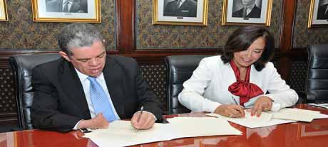imagen Educación y Plan Lea del Listín Diario firman acuerdo de colaboración interinstitucional