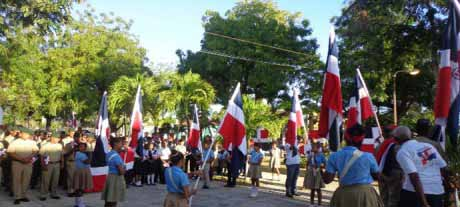 imagen Ministerio de Educación conmemora en todo el país el Día de la Bandera Nacional